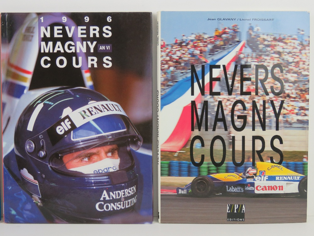 Nevers Magny Cours. 1992, 1993, 1995, and 1996 editions. French text hardcover books. - Image 3 of 3
