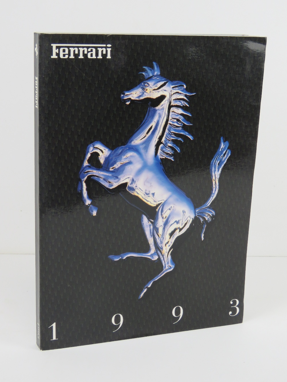 Ferrari Yearbook 1993. Italian edition. Softback book.