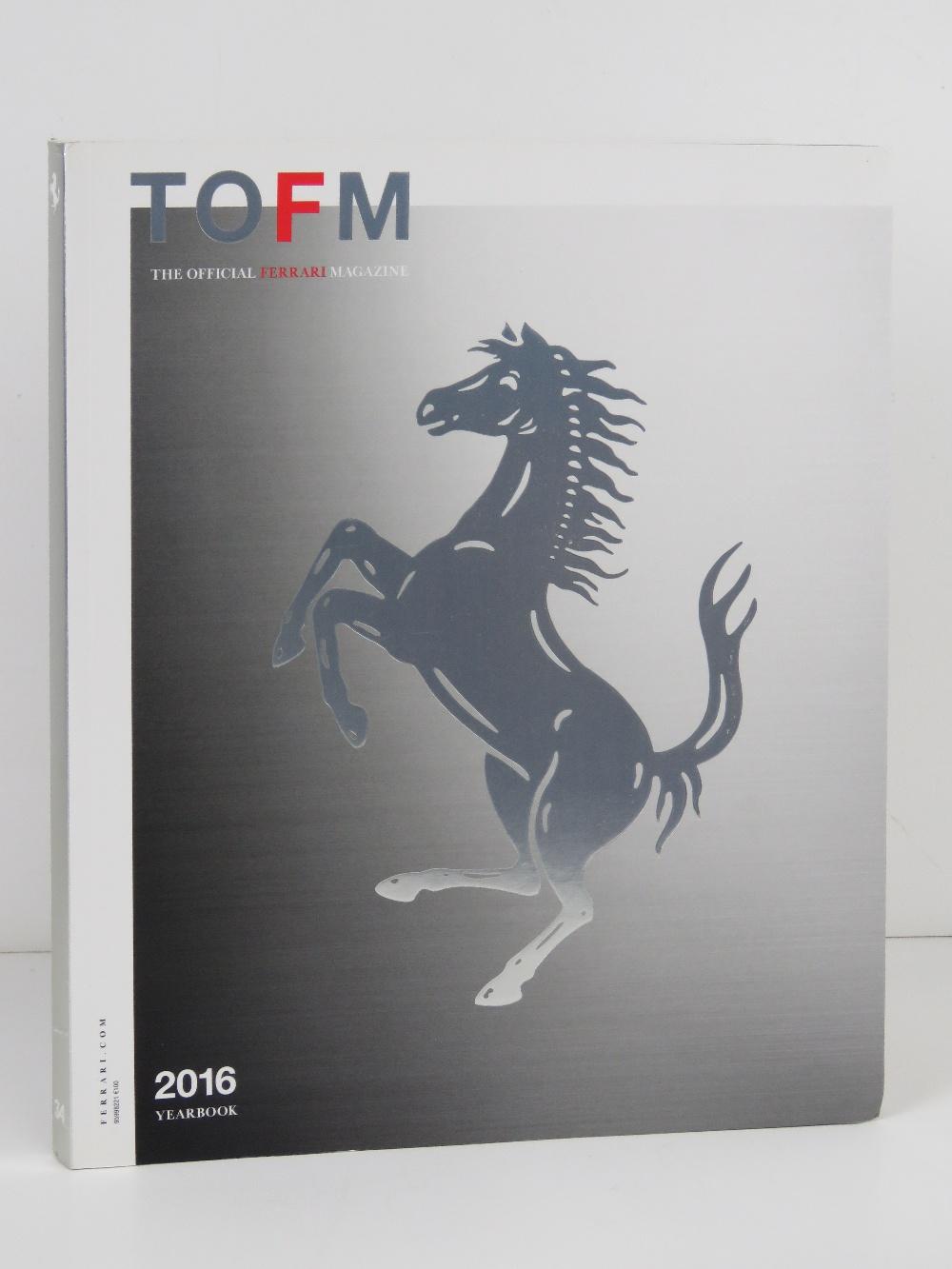 Ferrari Yearbook 2016. English edition. Softback book.