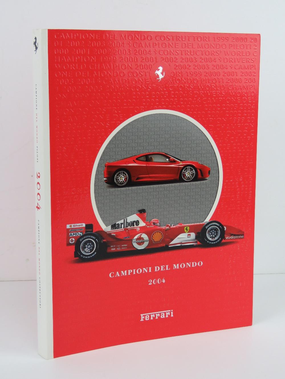Ferrari Yearbook 2004. English / Italian edition. Softback book.
