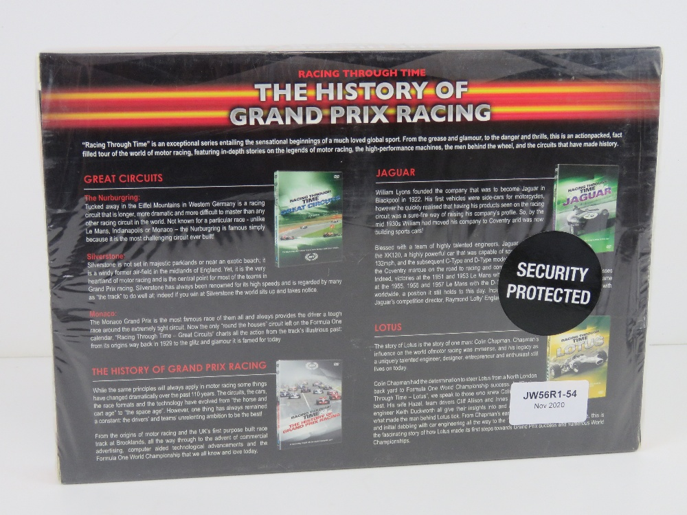 DVD box set Racing Through Time 'The History of Grand Prix Racing', in plastic wrap. - Image 2 of 2