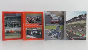 Vallelunga. 2007/8, 2008/9, 2009/10, and 2010/11 editions. Italian text softback books.