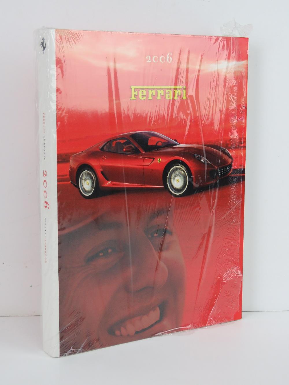 Ferrari Yearbook 2006. English / Italian edition. Softback book.