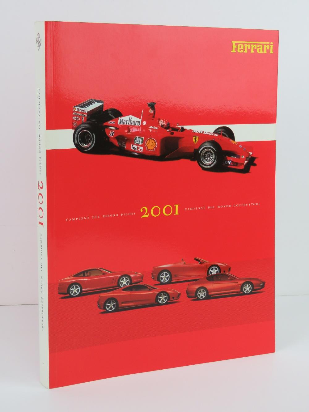 Ferrari Yearbook 2001. English / Italian edition. Softback book.