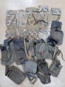 Twenty-five assorted AK magazine pouches