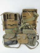 An RPG-7 grenade pouch, together with an