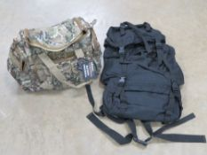 Tactical Assault bag, padded with pouche