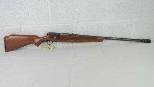 A deactivated US Mossberg Model 195K 12