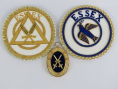 Masonic; Craft Provisional Undress and D
