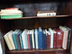 A COLLECTION OF FOLIO SOCIETY, OXFORD LIBRARY AND OTHER BOOKS.