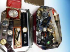 A QUANTITY OF WRISTWATCHES ETC.