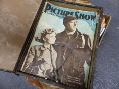 A COLLECTION OF 1930-50s FILM MAGAZINES, THE FILM GOER, PICTURE SHOW, FILM PICTORIAL AND OTHER