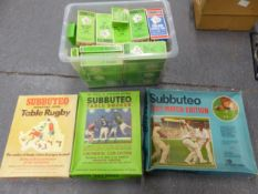 A COLLECTION OF SUBBUTEO FOOTBALL TEAMS AND OTHER TOYS. (QTY)