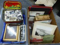 A SMALL COLLECTION OF CRUISE MEMORABILIA, MISCELLANEOUS BOOKS, MAPS, COMMEMORATIVE MAGAZINES AND