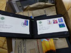 A COLLECTION OF STAMPS, FIRST DAY COVERS FROM THE 1930'S THROUGH TO QUEEN ELIZABETH II, TO
