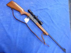 RIFLE (FAC REQUIRED) ANSCHUTZ MOD 525 .22LR SEMI AUTO SERIAL NUMBER 142822 ( ST. NO. 3420)