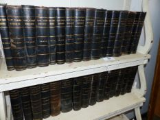 THIRTY ONE VOLUMES OF THE LAW TIMES REPORTS DATING FROM CIRCA 1875 TO 1943, THE SPINES AND CORNERS