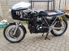 RARE JMC EGLI VINCENT- 1000CC IN CAFE RACER TRIM- REGISTRATION NUMBER B16 HRD- AN EXCEPTIONAL AND