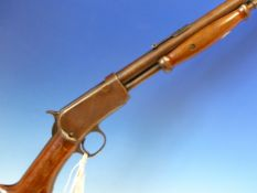 RIFLE- FAC REQUIRED- WINCHESTER '06 PUMP ACTION .22LR. SERIAL NUMBER 579610 ( STOCK NO. 3423)