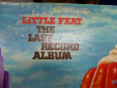 A COLLECTION OF TWELVE LPS BY LITTLE FEAT, EMERSON, LAKE AND PALMER, RORY GALLAGHER, GENESIS, MIKE