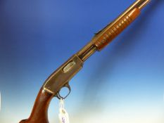RIFLE- FAC REQUIRED, WINCHESTER M'61 PUMP ACTION .22LR SERIAL NUMBER 31729 ( STOCK NO.3436)