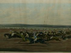 AFTER LIONEL EDWARDS. THE NORTH WARWICKSHIRE HUNT, A PENCIL SIGNED COLOUR PRINT. 39 x 52cms.