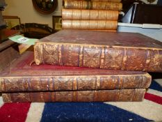 JEAN GASPARD LAVATER, ESSAI SUR LA PHYSIOGNOMONIE, THREE VOLUMES, THE LATTER TWO DATED 1783 AND
