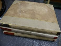 LOUIS RAEMAEKERS, THE GREAT WAR, THREE LIMITED EDITION FOLIOS CONTAINING TWO HUNDRED AND FIFTY TWO