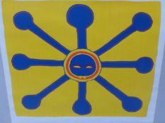 INUIT ART. WILLIAM UKPATIKU (BAKER LAKE 1935 - ****). THE MOON. PENCIL SIGNED AND NUMBERED 19/50.