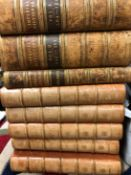 JOHN OGILVY, THE IMPERIAL DICTIONARY, THREE VOLUMES,1854, TOGETHER WITH EASTWICKS ORACLE