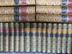 THOMAS MOORE, THE LIFE OF BYRON, 1851 TOGETHER WITH BYRON'S WORKS AND GIBBONS DECLINE AND FALL OF