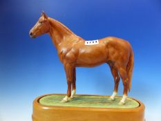 A 1965 ROYAL WORCESTER FIGURE OF HYPERION MODELLED BY DORIS LINDNER. W 26cms.