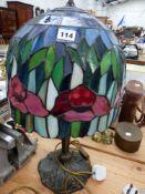 ART NOUVEAU STYLE TABLE LAMP.