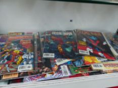 A COLLECTION OF MARVEL COMICS ETC.