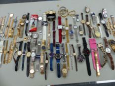 A LARGE QUANTITY OF WRISTWATCHES.