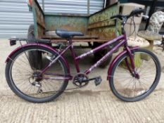 A LADIES BICYCLE.