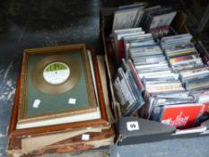 A QUANTITY OF CDS, RECORDS ETC.