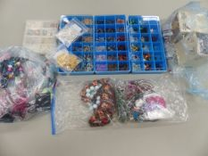 CRAFTING BEADS AND COMPONENTS.