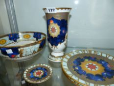 A GROUP OF ROYAL WORCESTER MILLENNIUM CHINA WARES.