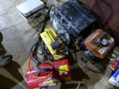 DEWALT POWER TOOLS, A PRESSURE WASHER, SPACE HEATER, SMALL GENERATOR ETC.
