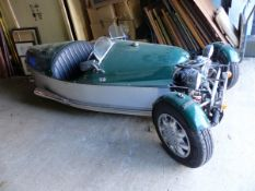 JZR /HONDA THREE WHEELER MORGAN DESIGN KIT CAR.-REGISTRATION NUMBER A23 YJH- FITTED WITH HONDA CX