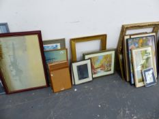 AN EXTENSIVE COLLECTION OF VARIOUS PRINTS, PICTURES ETC.