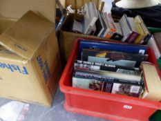 A LARGE QUANTITY OF BOOKS.