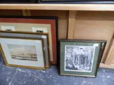 A QUANTITY OF PRINTS AND ENGRAVINGS ETC.