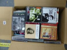 AN EXTENSIVE COLLECTION OF CDS, DVDS ETC.