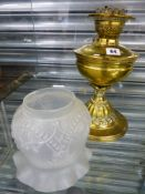 ANTIQUE OIL LAMP.