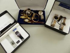 VARIOUS VINTAGE AND MODERN GENTS AND LADIES WRIST WATCHES.