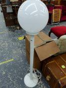 A RETRO STANDARD LAMP.