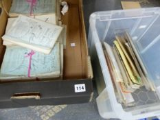 AN INTERESTING COLLECTION OF EPHEMERA, NATURE NOTES PAMPHLETS, PRINTS ETC.