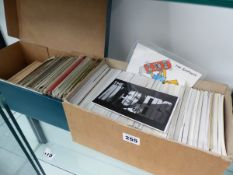 A QTY OF 1980S UNUSED POSTCARDS FILM SUBJECTS ETC TOGETHER WITH A GROUP OF VINTAGE POSTCARDS.